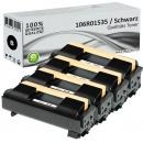 4x Alternativ Xerox Toner 106R01535 Schwarz