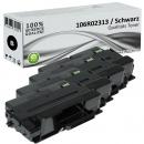 4x Alternativ Xerox Toner 106R02313 Set Schwarz
