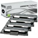 4x Alternativ Xerox Toner 109R00746 Set Schwarz