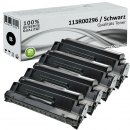 4x Alternativ Xerox Toner 113R00296 Set Schwarz