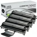 4x Alternativ Xerox Toner 113R00730 Schwarz
