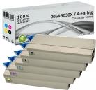 Set 5x Alternativ Xerox Toner 006R9030X Mehrfarbig