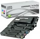 5x Alternativ Xerox Toner 106R0068X Mehrfarbig
