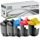 5x Alternativ Xerox Toner 106R0127X Mehrfarbig