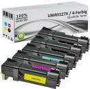 5x Alternativ Xerox Toner 106R0128X Mehrfarbig
