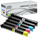 5x Alternativ Xerox Toner 106R0143X Mehrfarbig