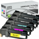 5x Alternativ Xerox Toner 106R0145X Mehrfarbig