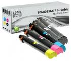 5x Alternativ Xerox Toner 106R0156X Set Mehrfarbig