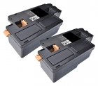 Set 2x Alternativ Xerox Toner 106R02759 Schwarz
