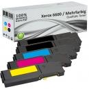 Alternativ Xerox Toner 6600 5er Set Mehrfarbig