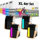 4x Alternativ Xerox Toner 106R0260X Set Mehrfarbig