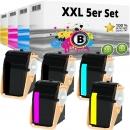 5x Alternativ Xerox Toner 106R0260X Set Mehrfarbig