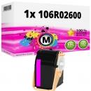 Alternativ Xerox Toner 106R02600 Magenta
