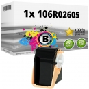 Alternativ Xerox Toner 106R02605 Schwarz