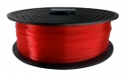 ABS Filament 1,75 mm - Rot Transparent - 1 kg