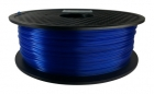 PLA Filament 1,75 mm - Blau Transparent - 1 kg