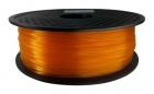 PLA Filament 1,75 mm - Orange Transparent - 1 kg
